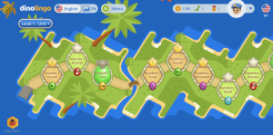 DinoLingo 3.0 map 2021